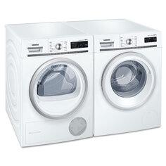 Siemens WM14W447DN+WT47W568DN Frontbetjent vaskemaskine